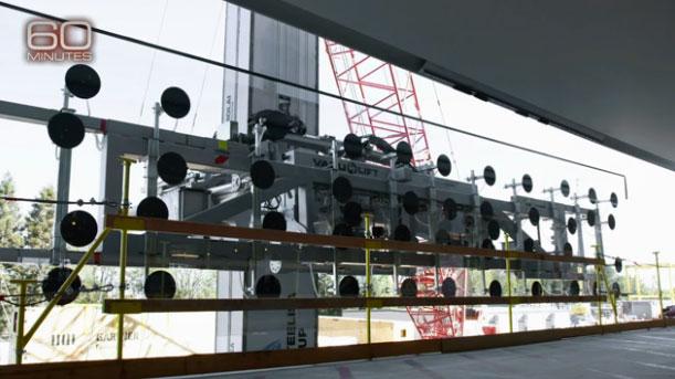 El cristal más grande del mundo en las nuevas oficinas de Apple