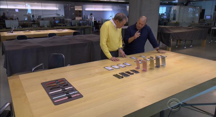 Prototipos del iPhone 6S sobre la mesa