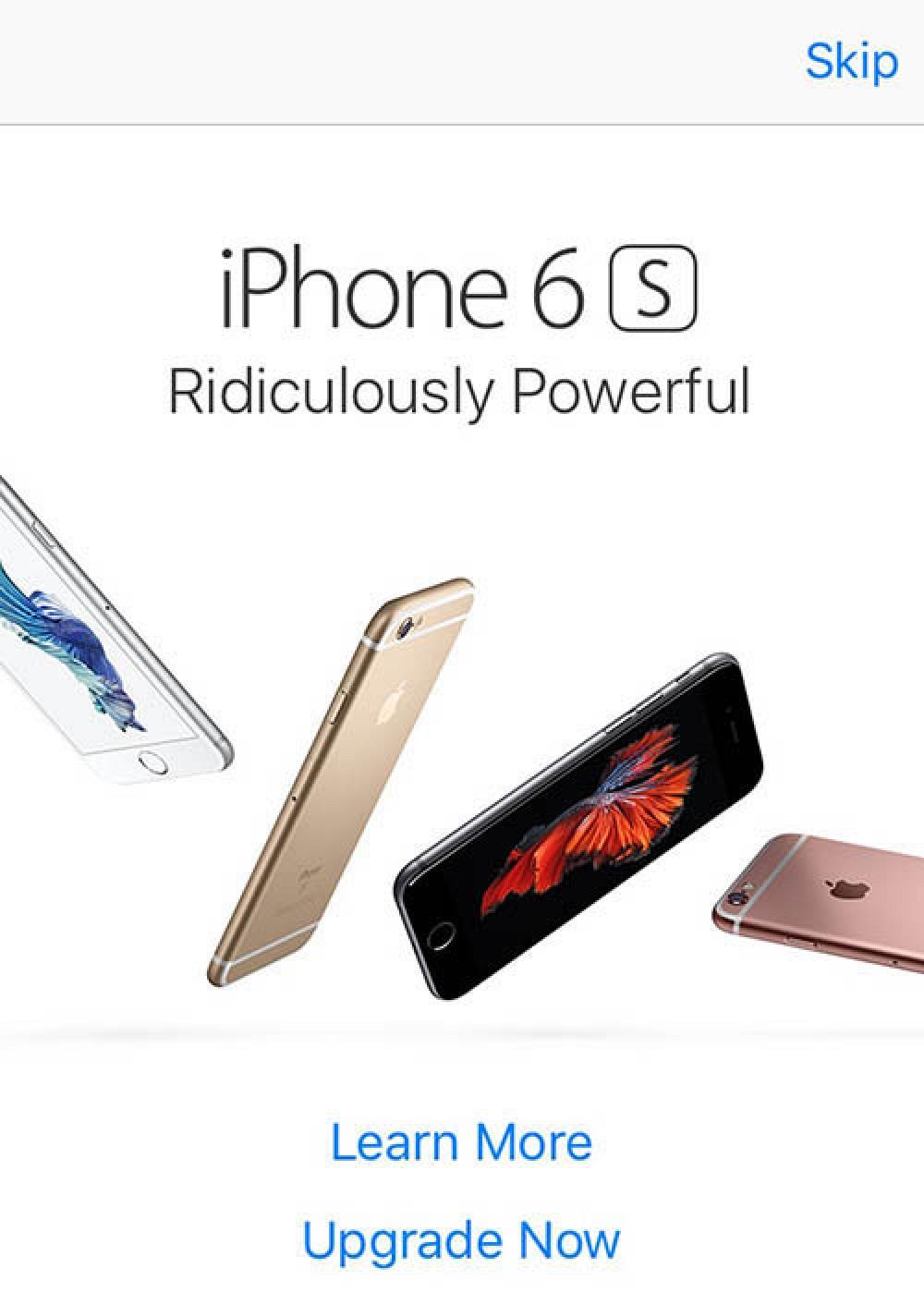 Publicidad de Apple en la App Store