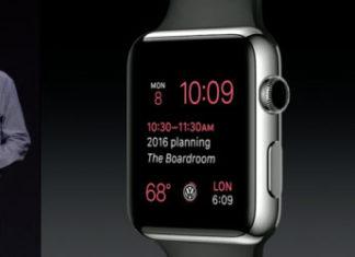 Kevin Lynch en la presentación del Apple Watch