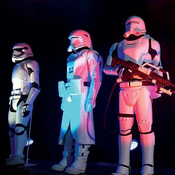 Storm Troopers de Star Wars en la cuenta de Instagram de iTunes