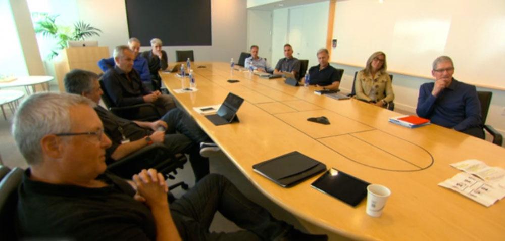 Mesa de la Junta directiva de Apple
