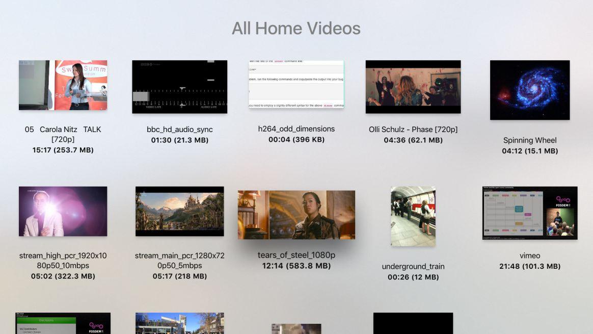 VLC en el Apple TV