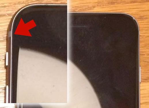 Antena del supuesto iPhone 6S mini o 5SE