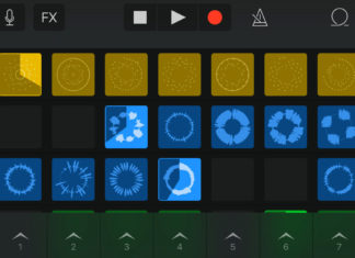 Live Loops en GarageBand