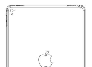 Supuesto esquema del iPad Air 3