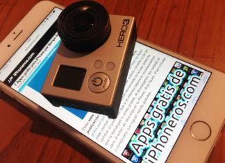 iPhone 6 Plus y GoPro Hero3
