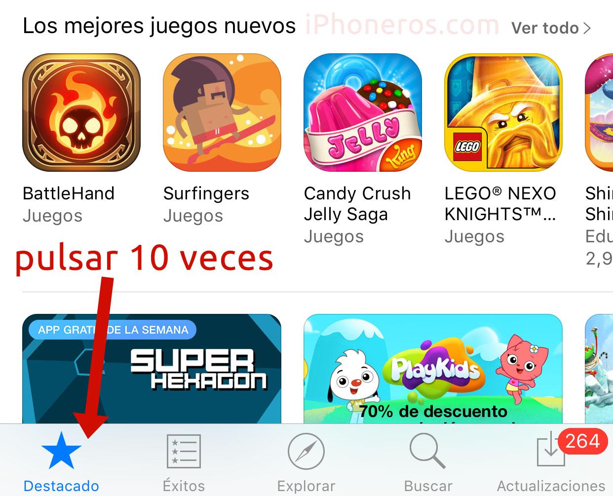 Truco para acelerar la App Store