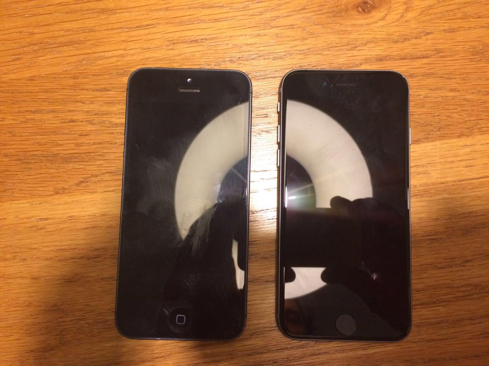 Supuesto iPhone 6S mini o 5SE