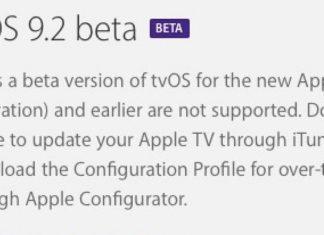 tvOS 9.2 beta 1