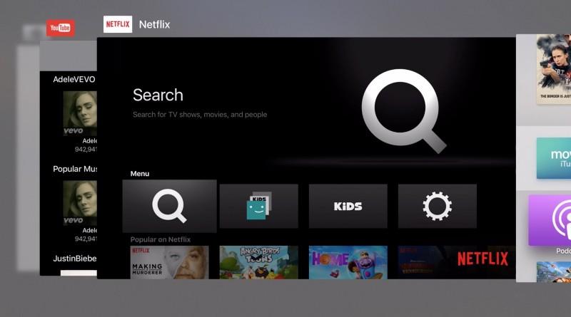 Nueva interfaz para cambiar Apps en tvOS 9.2