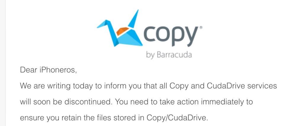 Copy cierra