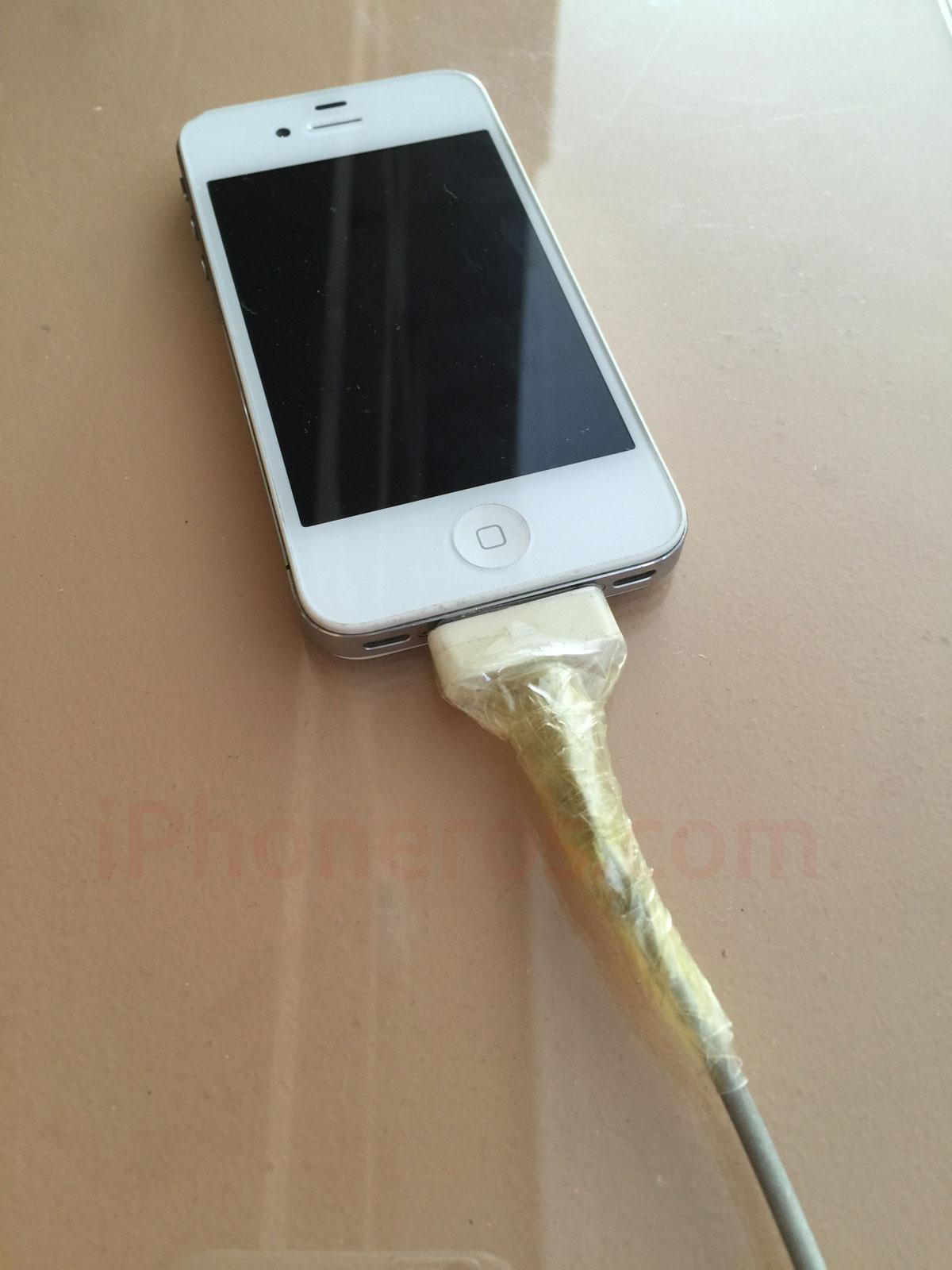 Cable Dock USB de iPhone estropeado