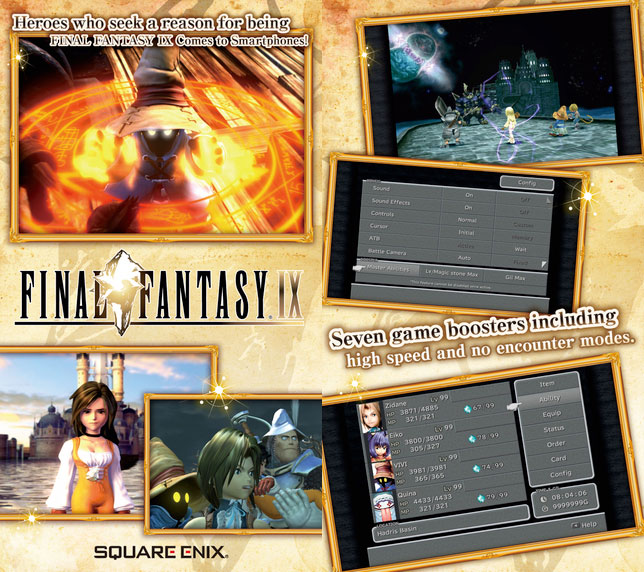Final Fantasy IX para iPhone