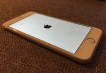 iPhone 6 intentando arrancar