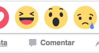 Nuevas expresiones de Facebook