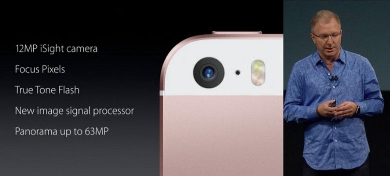Cámara del iPhone SE