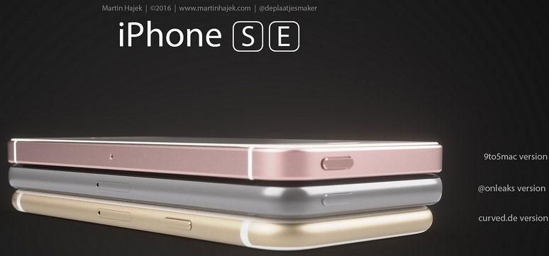 Concepto de diseño de iPhone SE
