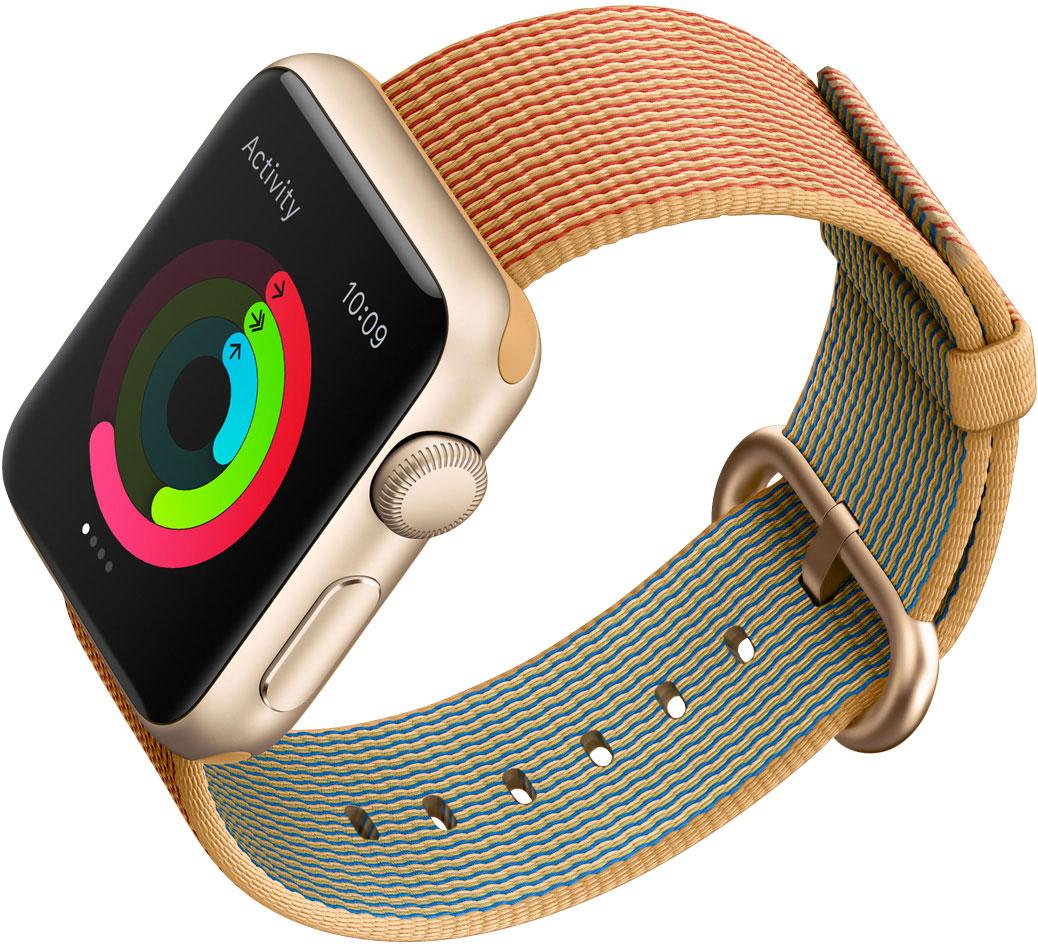 Apple Watch con correa de nailon