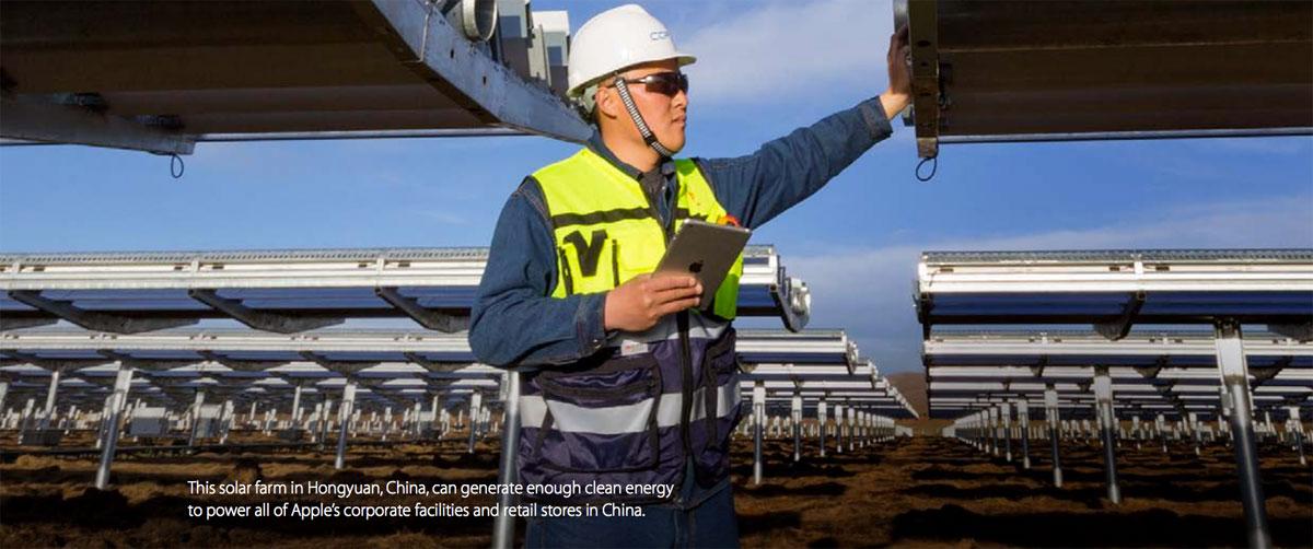 Granja Solar en China