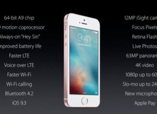 Mejoras del iPhone SE