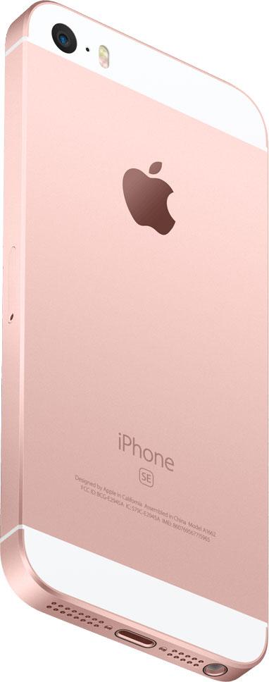 iPhone SE oro rosado