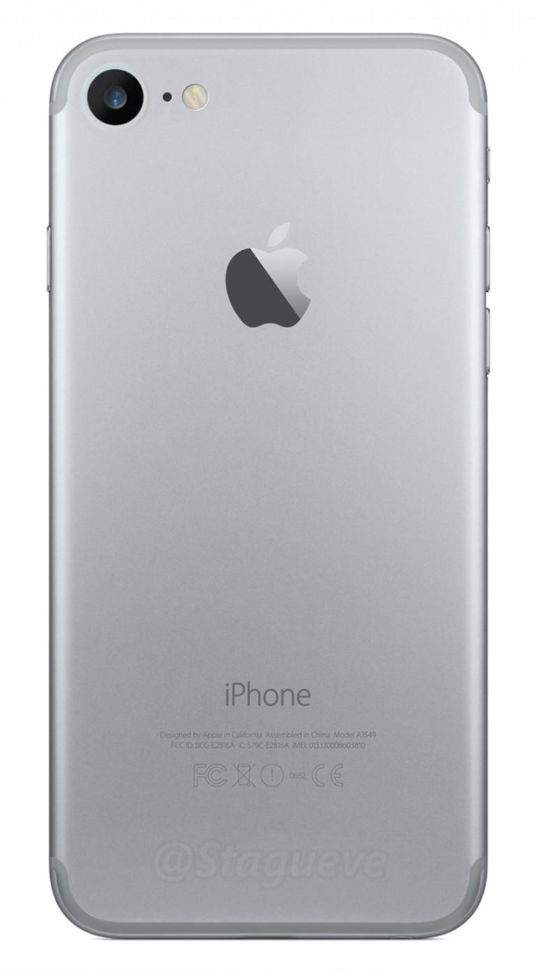 Render del posible diseño del iPhone 7
