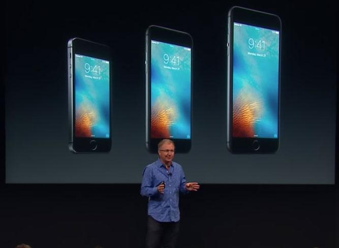Presentación del iPhone SE