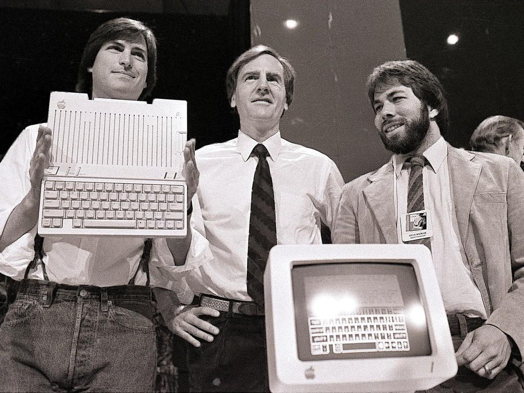 Steve Jobs, Steve Wozniak, Ronald Wayne