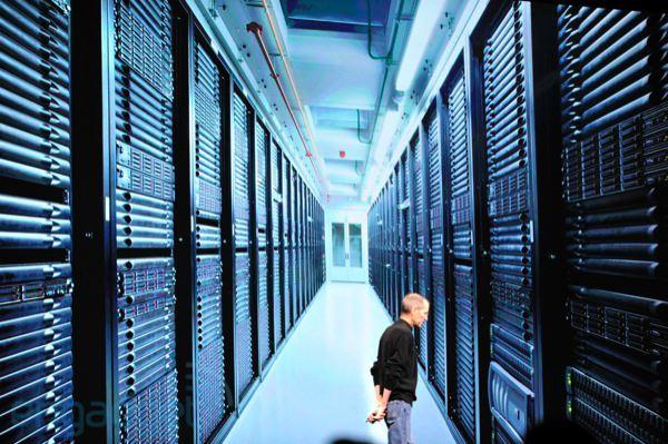 Steve Jobs hablando de centros de datos en la WWDC2011