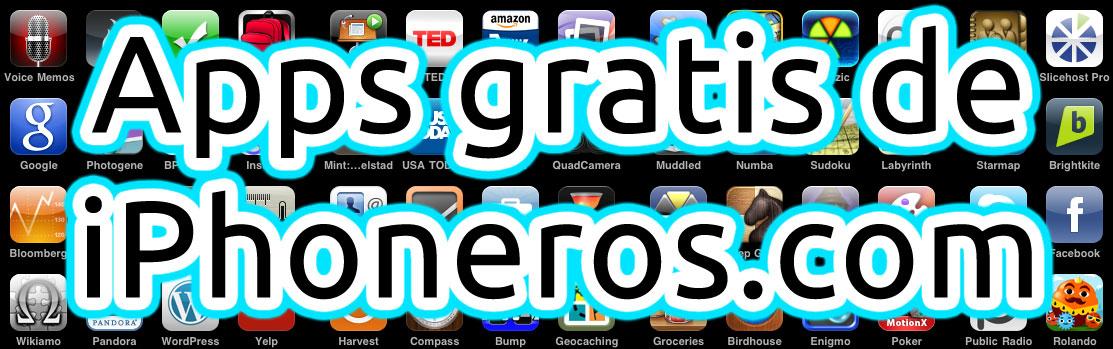Apps gratuitas en iPhoneros.com