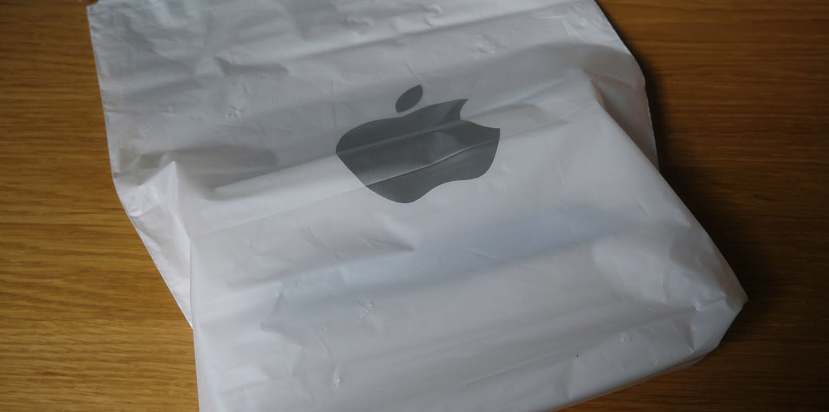 Bolsas de plástico de Apple