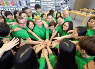 Camisetas verdes en la App Store