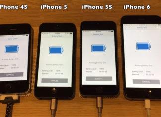 Comparación de duración de baterías en iOS 9.3.1