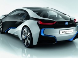 Coche Eléctrico de BMW i8