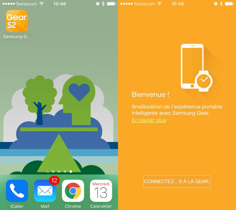Supuesta App del Samsung Gear 2 para iPhone