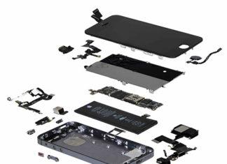 Todos los componentes del iPhone SE