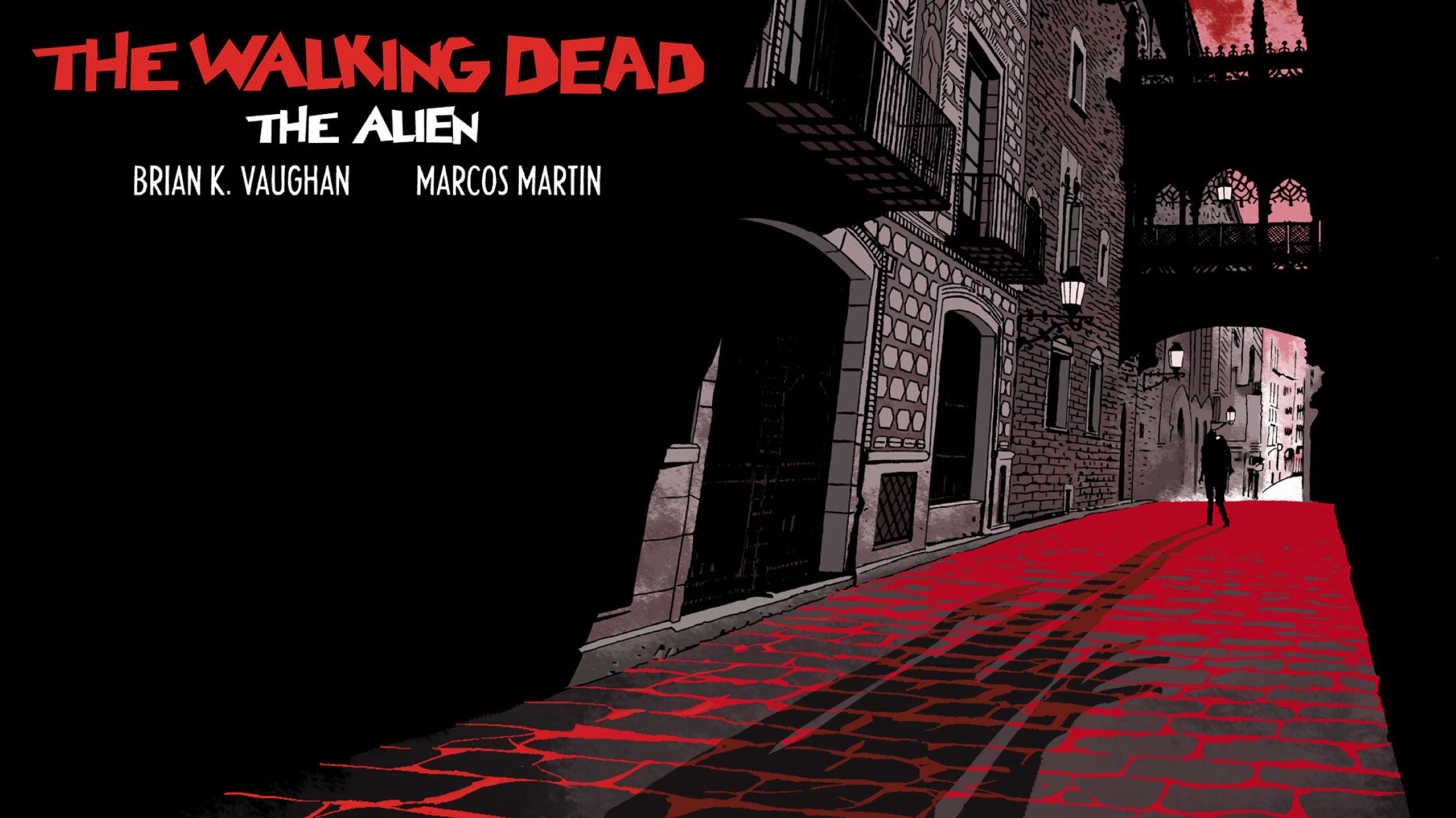 The Walking Dead: The Alien, se desarrolla en Barcelona
