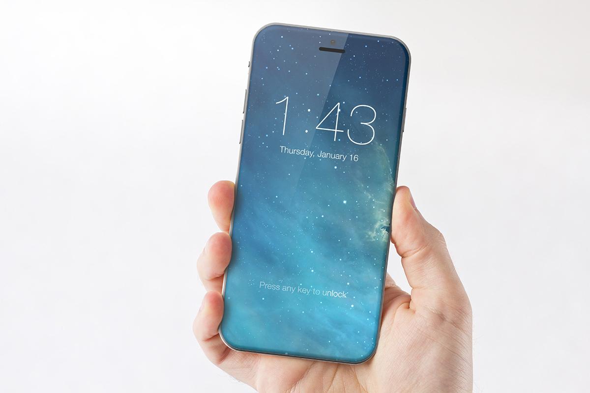 Concepto de boceto de iPhone 7