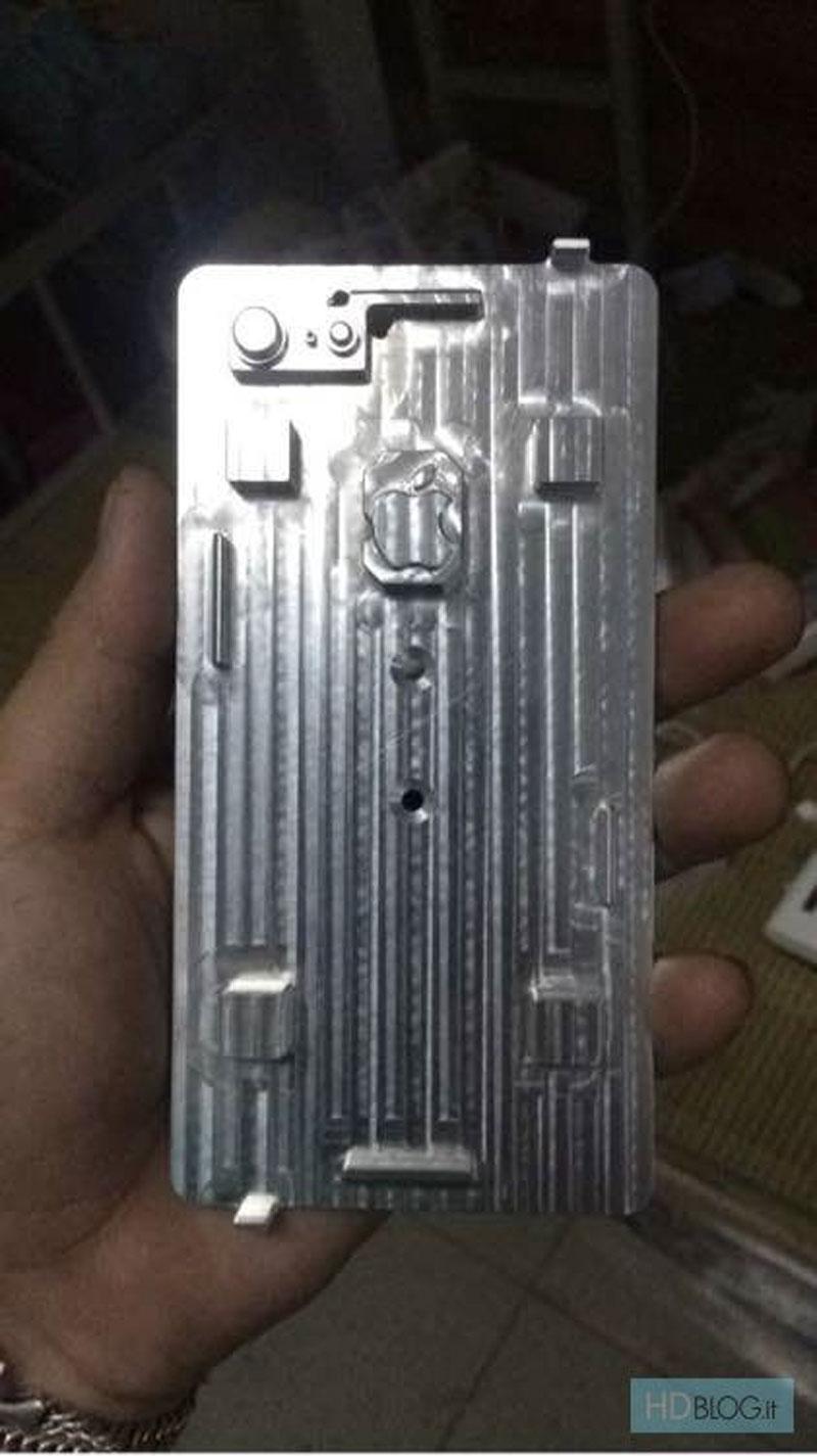 Supuestos moldes del iPhone 7 y 7 Plus