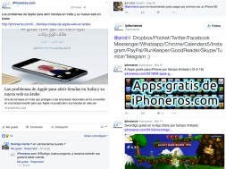 iPhoneros en las redes sociales