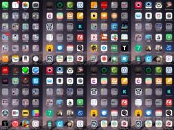 Muchas Apps instaladas