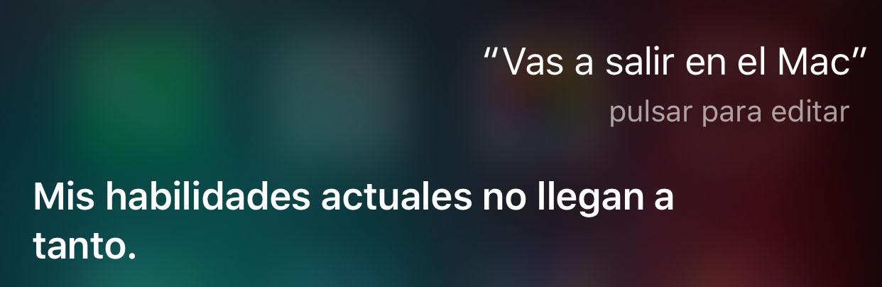 Siri ahora mismo no está en Mac, pero estará