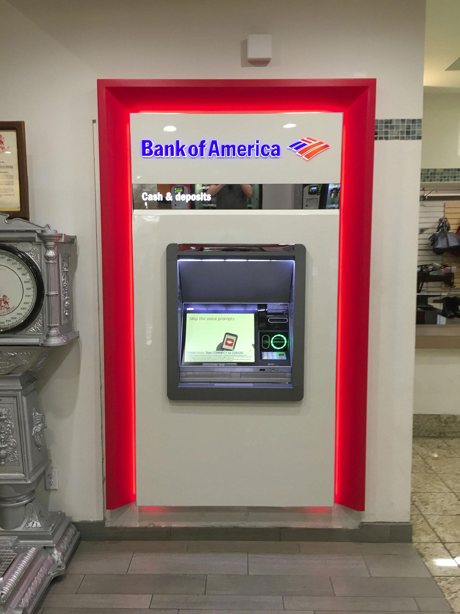 Cajero automático con Apple Pay