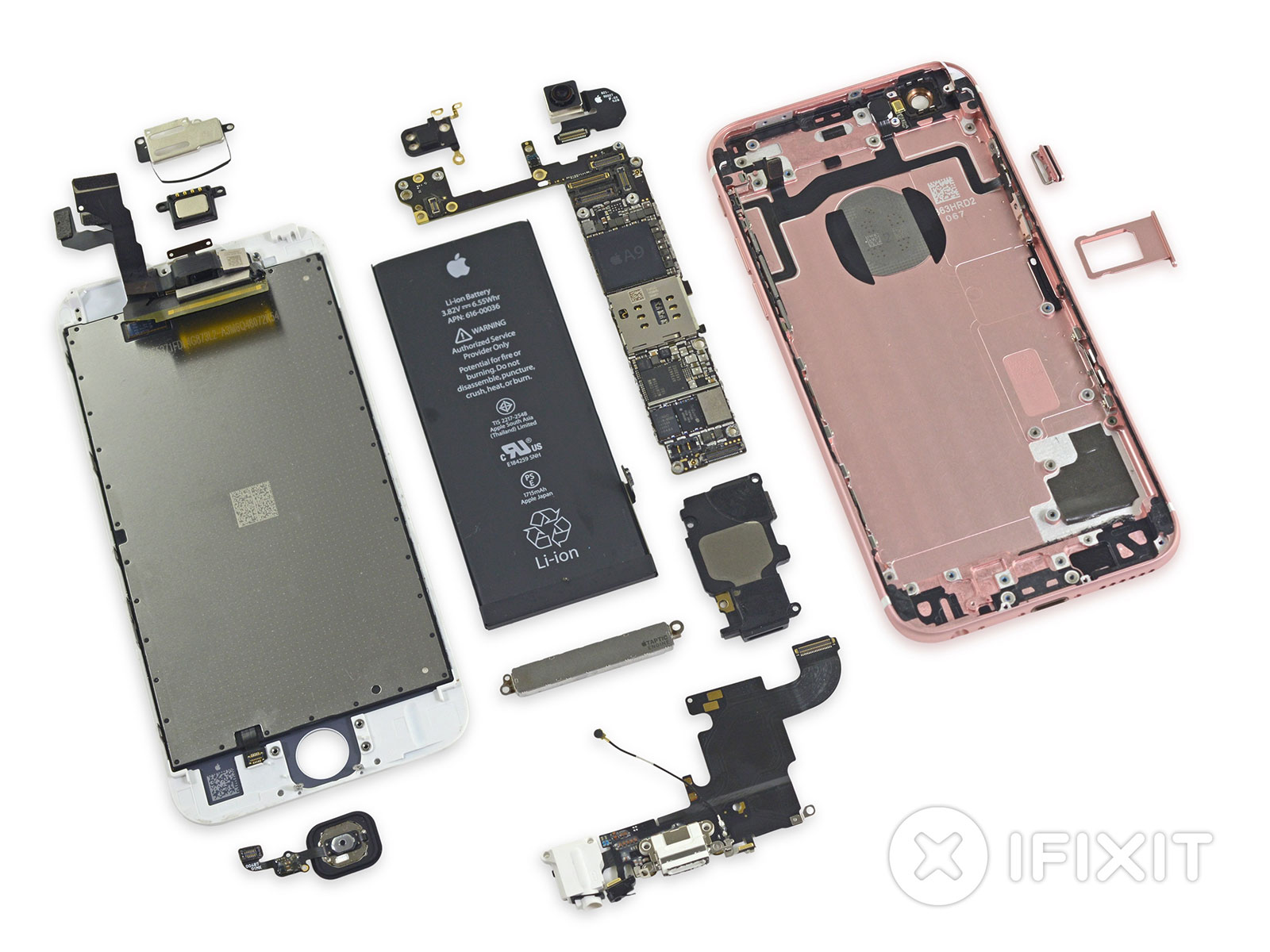 Componentes del iPhone 6S