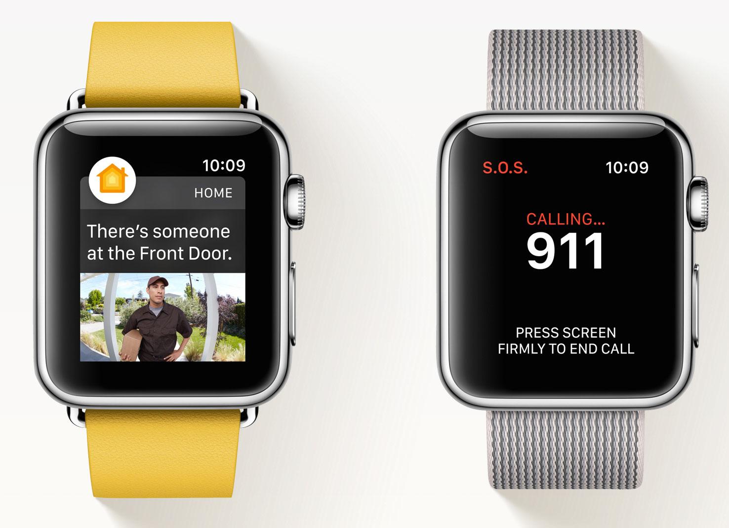 Emergencias en el Apple Watch con watchOS 3