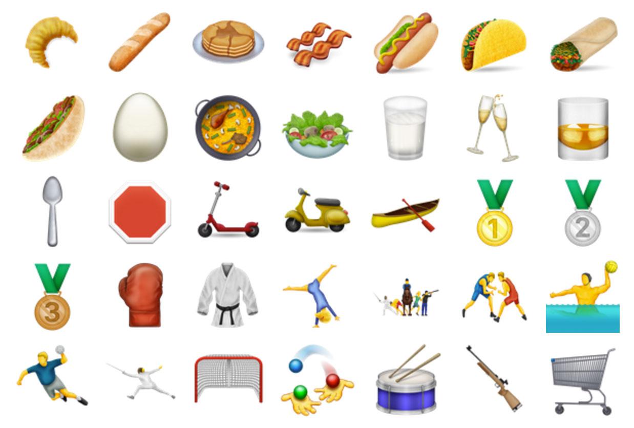Nuevos emojis del Consorcio Unicode