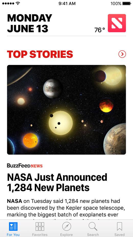 Nueva App de News