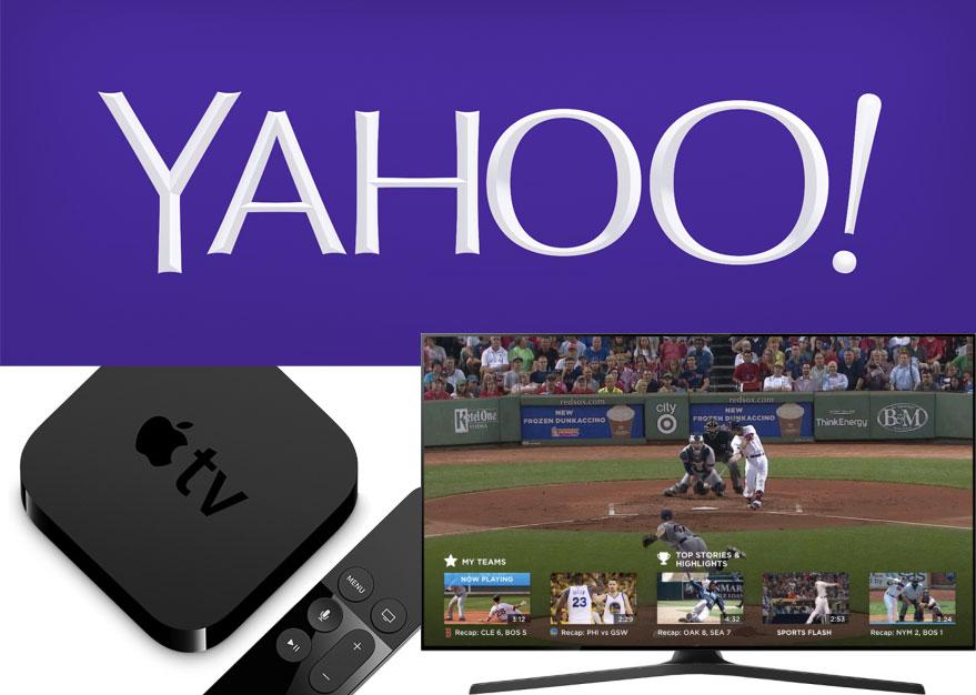 App de deportes de Yahoo