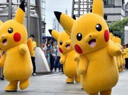 Pikachus por todas partes